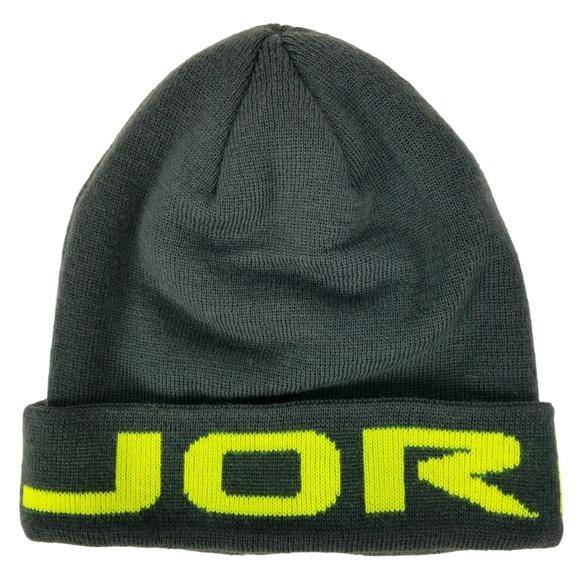 7b89e54a4a8 NIKE - Youth Boys - Jordan Jumpman Gray Beanie Hat